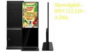 Màn hình quảng cáo chân đứng 65 inch AVN-QC65SI (không cảm ứng – Android)