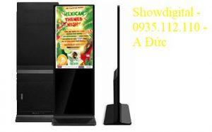 Màn hình quảng cáo chân đứng 65 inch AVN-QC65SITW (có cảm ứng – Windows)